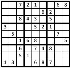 paris,sudoku,à vous de jouer